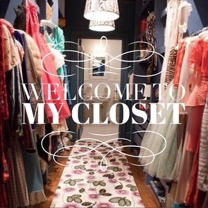 Welcome to my closet.✨💫⭐️✨💫